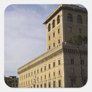 Apartments, Rome, Italy 3 Square Sticker