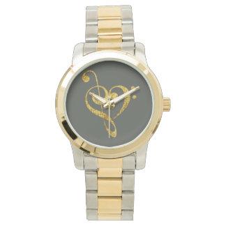apasionado musical - joyería relojes de pulsera