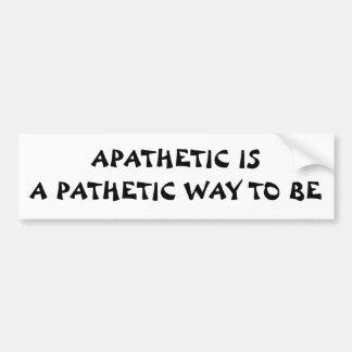 Apathetic Fortune Cookie Bumper Sticker