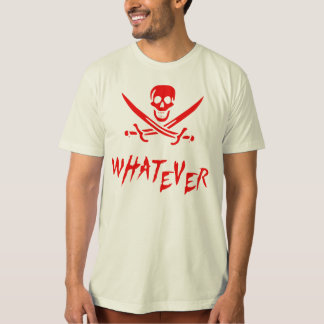"""Apathetic Roger"" Pirate {Redbeard} T-Shirt"