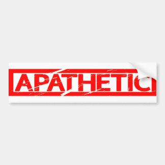 Apathetic Stamp Bumper Sticker