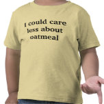apathetic towards oatmeal t shirt