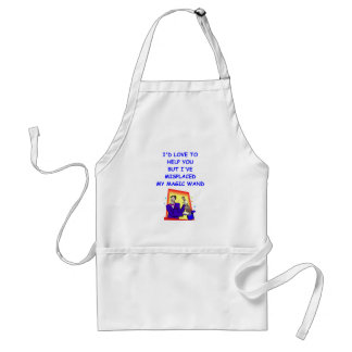 apathy adult apron
