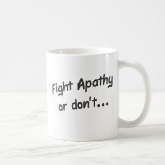 Apathy Coffee Mug
