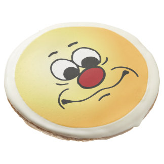 Apathy Face: Mistaken for someone who cares Sugar Cookie