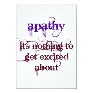 Apathy Humorous Card