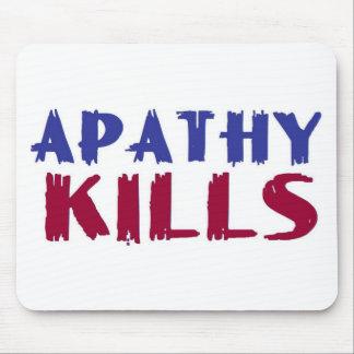 apathy kills mouse pad