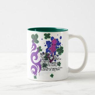 Apathy Squid Two-Tone Coffee Mug