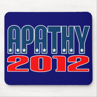 Apatía 2012 mouse pad