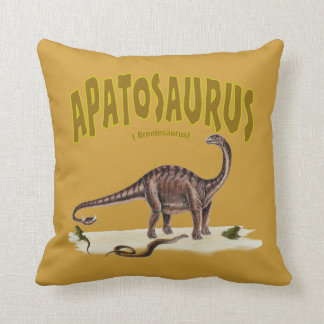 Apatosaurus (brontosaurus ) American MoJo Pillow