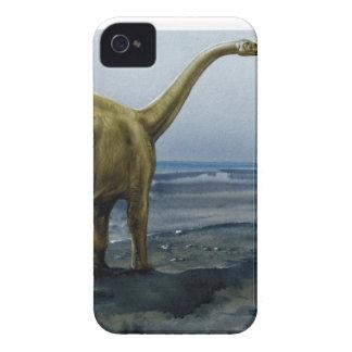 Apatosaurus (Brontosaurus) Illustration Case-Mate iPhone 4 Cases