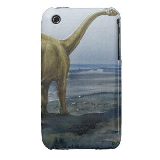 Apatosaurus (Brontosaurus) Illustration iPhone 3 Case