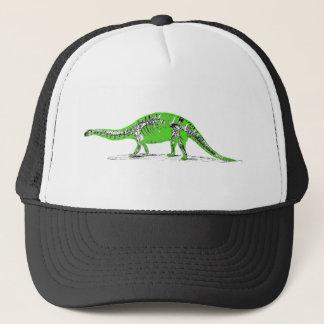 Apatosaurus (brontosaurus) skeleton trucker hat
