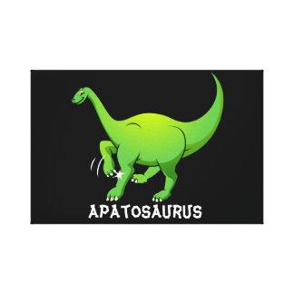 Apatosaurus Canvas Print