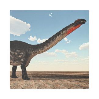 Apatosaurus dinosaur - 3D render Metal Photo Print