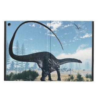 Apatosaurus dinosaur in the desert - 3D render iPad Air Cases