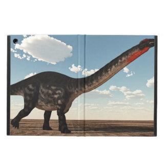 Apatosaurus dinosaur in the desert - 3D render iPad Air Cover