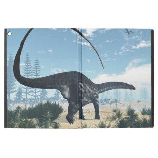 "Apatosaurus dinosaur in the desert - 3D render iPad Pro 12.9"" Case"