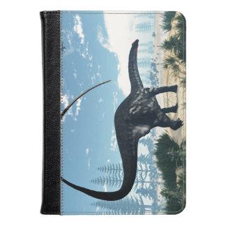 Apatosaurus dinosaur in the desert - 3D render Kindle Case