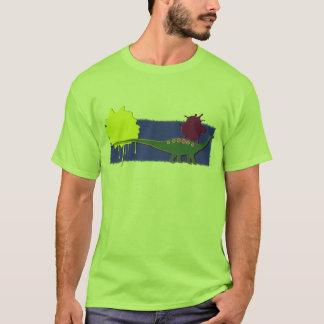 Apatosaurus Green With Bright Embellishments T-Shirt