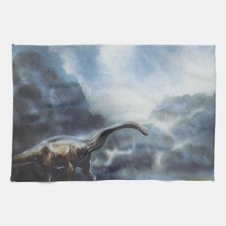 Apatosaurus o Brontosaurus Toalla De Mano