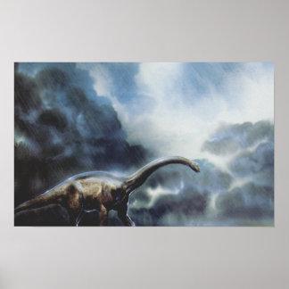 Apatosaurus or Brontosaurus Poster
