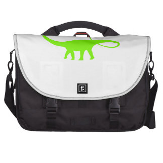 Apatosaurus Silhouette (Green) Commuter Bag