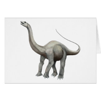 Apatosaurus Tarjeta