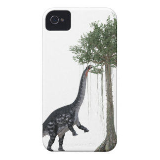 Apatosurus Dinosaur feeding on a Tree Case-Mate iPhone 4 Case