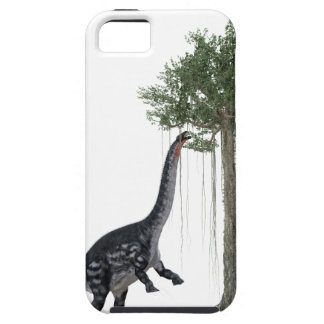 Apatosurus Dinosaur feeding on a Tree iPhone SE/5/5s Case