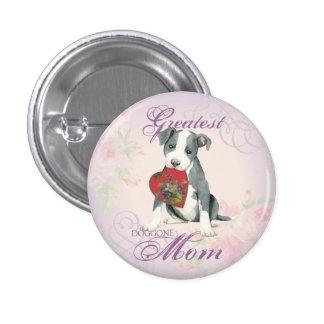 APBT Heart Mom Button