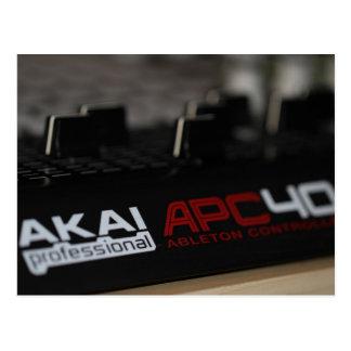 Apc40 Akai Postcard