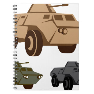 APC armored personnel carrier Notebook