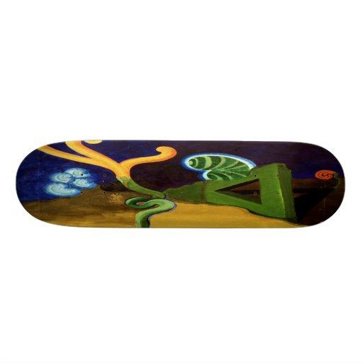 APDECK_BARRETT_Enlightened_Beans Custom Skateboard