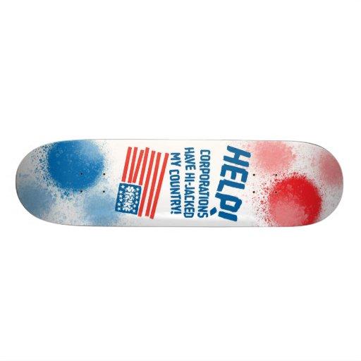 APDECK_CAMERON_Art_StrikeHelp Skate Board Decks