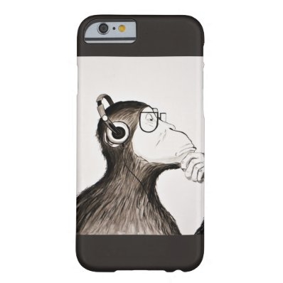 Ape and Music iPhone Case
