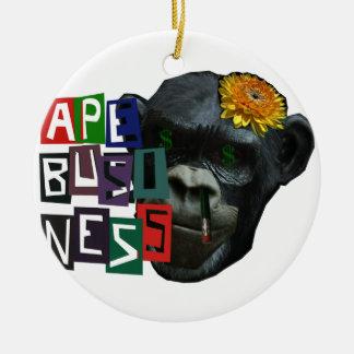 Ape Business Ornaments