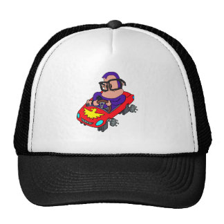 ape car hipster trucker hat