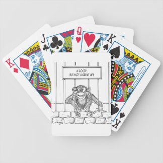 Ape Cartoon 1537 Bicycle Playing Cards