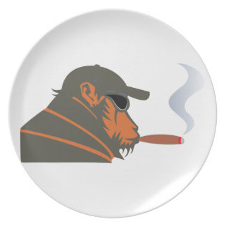 Ape cigar ape cigar party plates