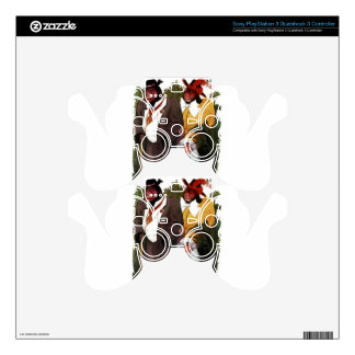 Ape Family - Baby Chimp PS3 Controller Decals