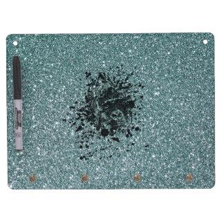 Ape Glitter Dry Erase Board With Keychain Holder