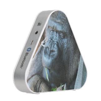 Ape hood ~ Japanese Gorilla Eating Bluetooth Speaker