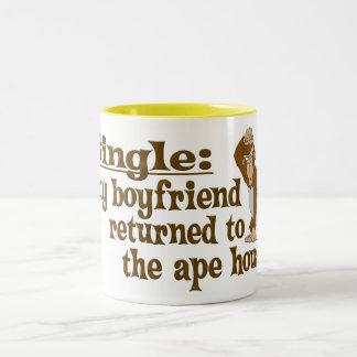 Ape House Two-Tone Coffee Mug