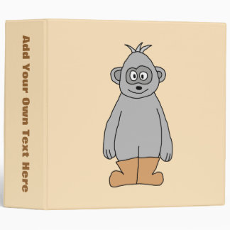 Ape in Brown Boots. Binder