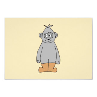 Ape in Brown Boots. Card