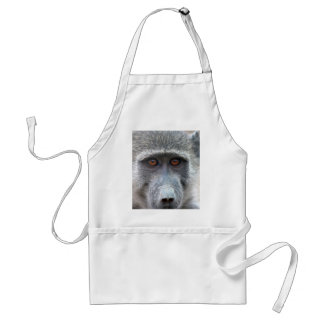 Ape looking into ones eyes close up adult apron