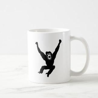 ape monkey chimp gorilla affe crazy orang utan tee haferl