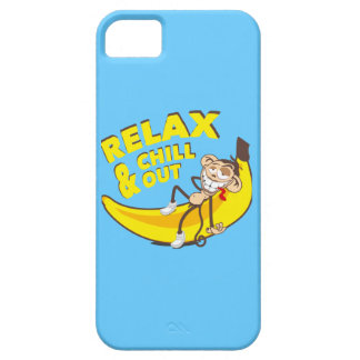 Ape on banana - Relax And chill out! iPhone SE/5/5s Case