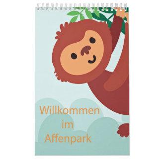 Ape park calendar